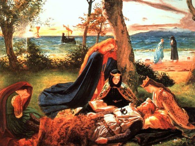 a. Avontuur Avallon The_Death_of_King_Arthur.jpg-wikimedia-commons