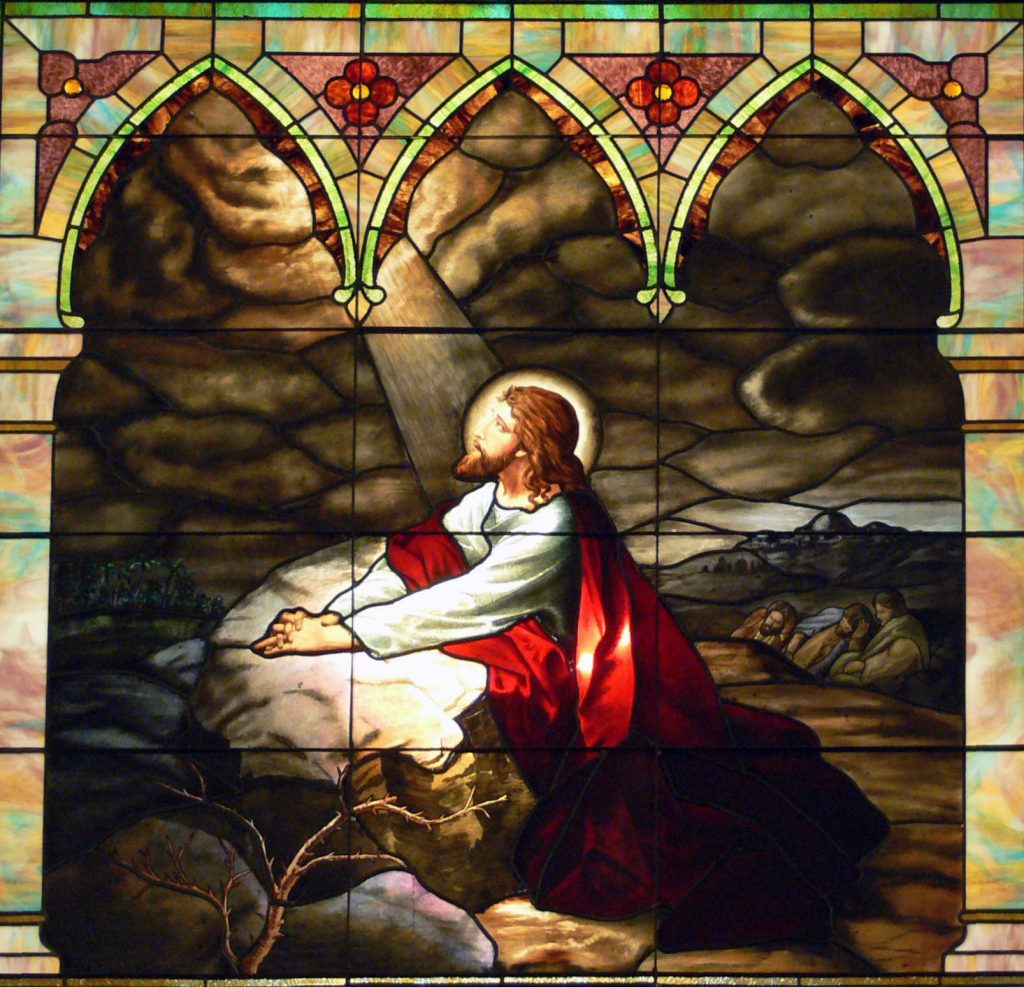 Christ_on_the_Mount_of_Olives.Dallas_Cathedral_window_